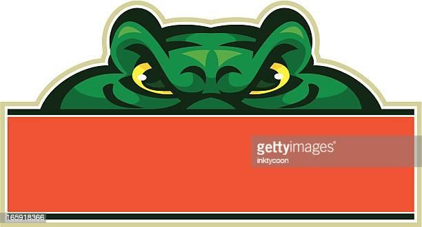 Gator Mascot Sign
