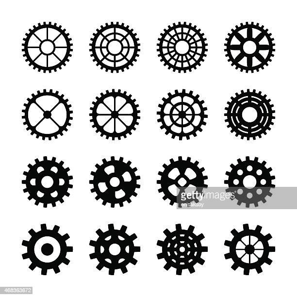 Gear Silhouettes