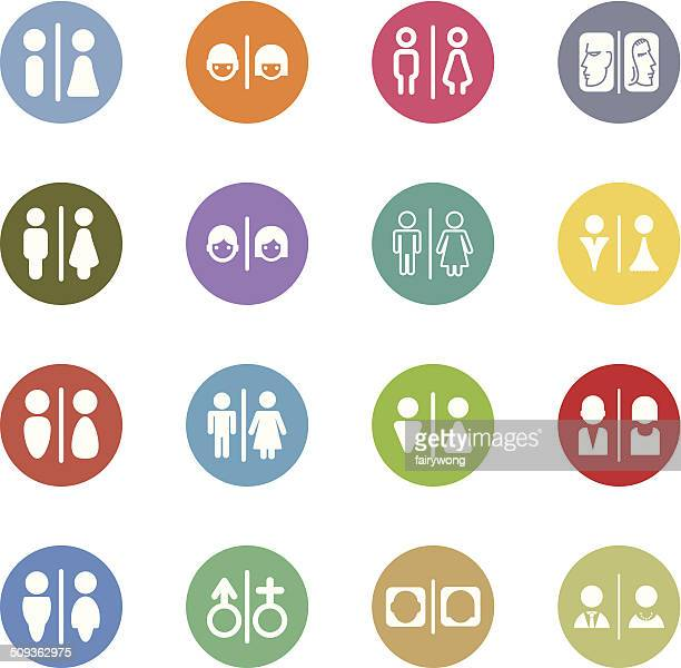 Ilustraciones de stock y dibujos de ba os p blicos getty images - Sexo en banos publicos ...