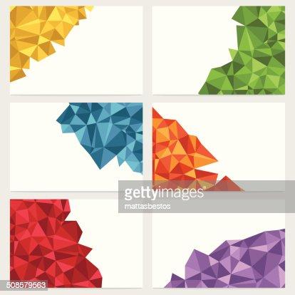 Geometrische Banner : Vektorgrafik