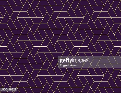 Geometric grid seamless pattern : Arte vetorial