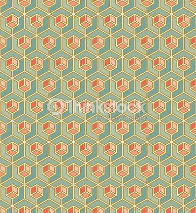 motif g om trique de gla ons dans un style art d co clipart vectoriel thinkstock. Black Bedroom Furniture Sets. Home Design Ideas