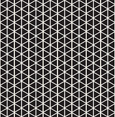 Geometric seamless pattern. Abstract background with triangles. Vector