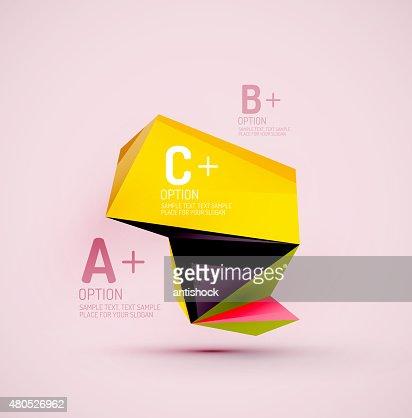 幾何学形の空間です。 ベクトル抽象的な背景 : ベクトルアート