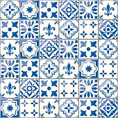 Azulejo tile collection inspired by traditional art from Portugal and Spain