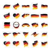 Germany flag, vector illustration