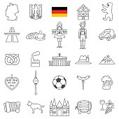 Germany icon set