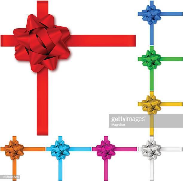 Cadeau Arcs avec rubans
