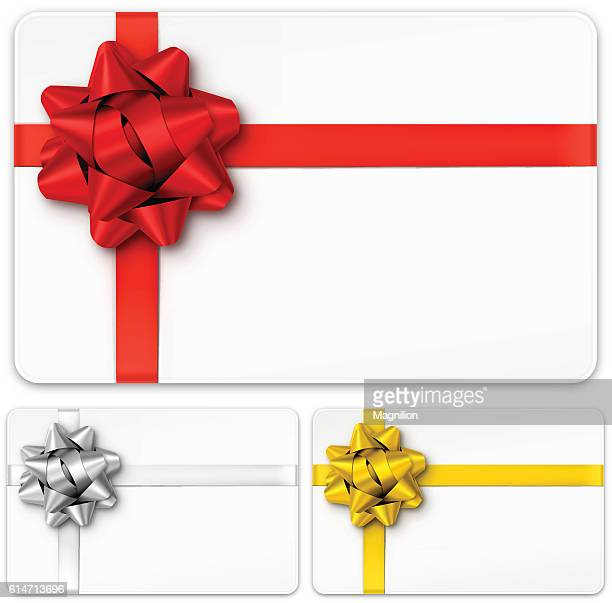 Gift Cards with Bows