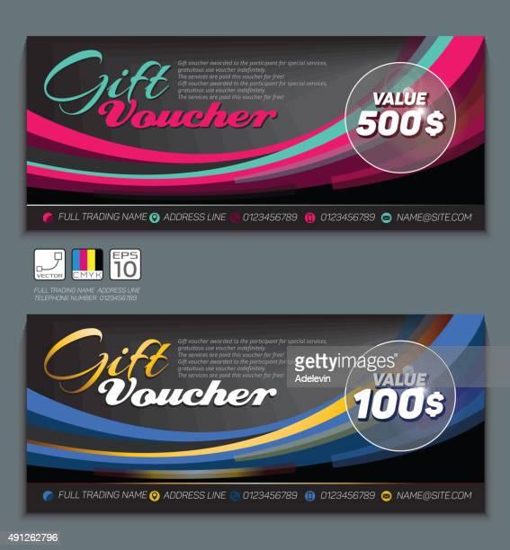 Gift Certificate voucher template