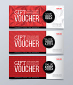 Abstract, banner, pattern, voucher