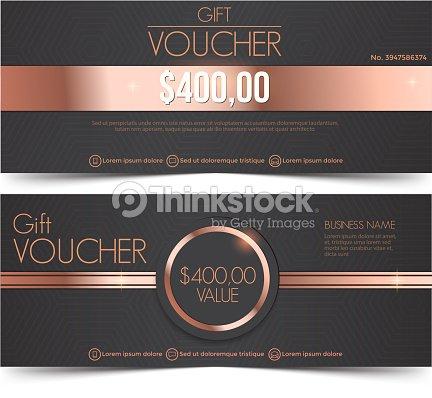 Gift Voucher Template Vector Art | Thinkstock