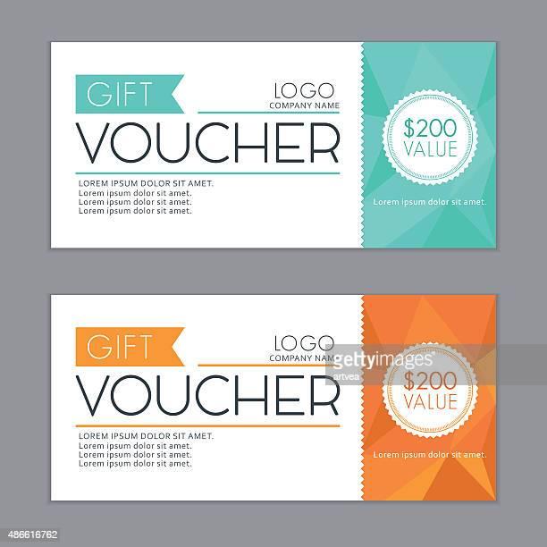 Gift Vouchers Template.