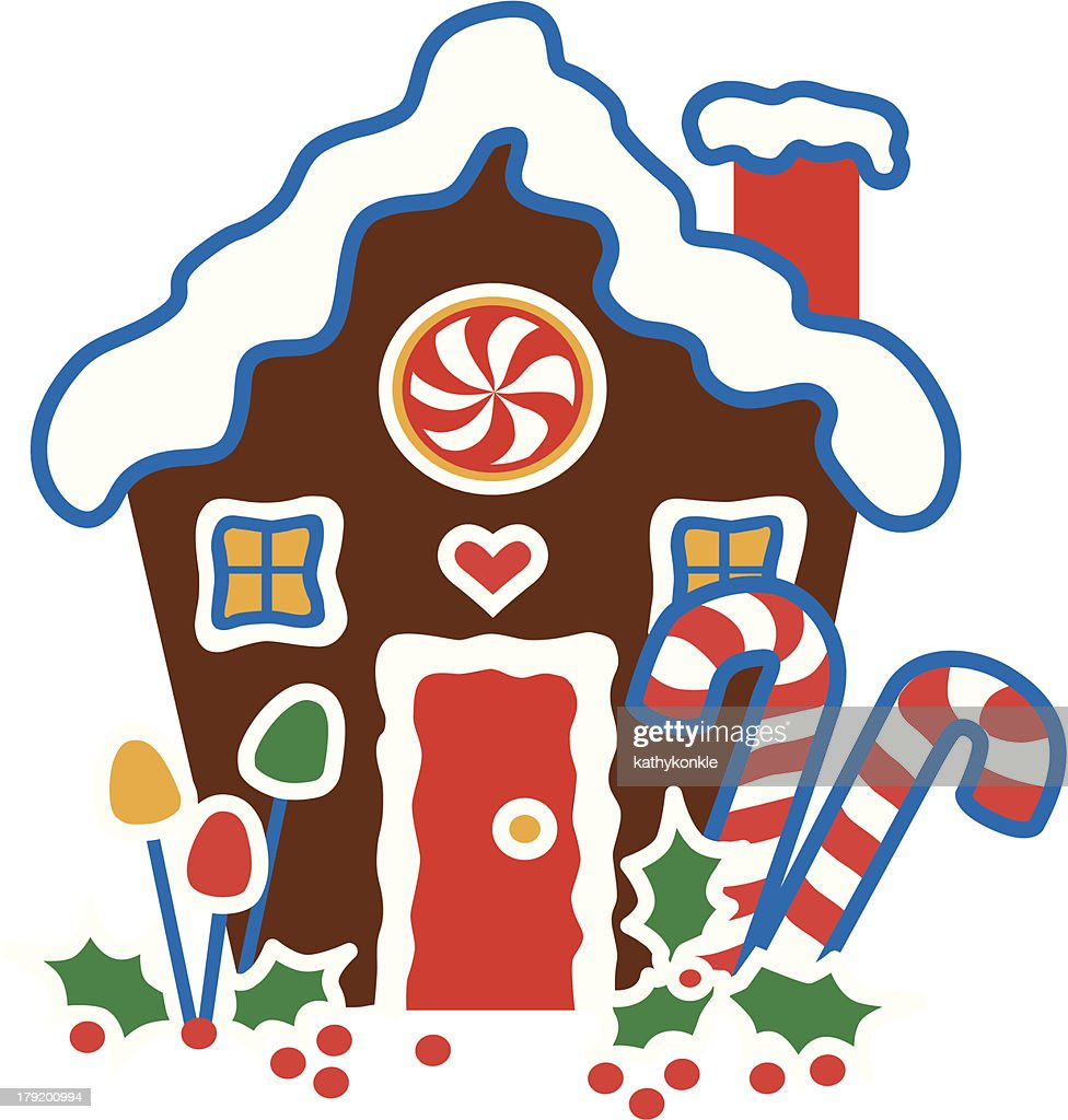 christmas clip art gingerbread house - photo #24