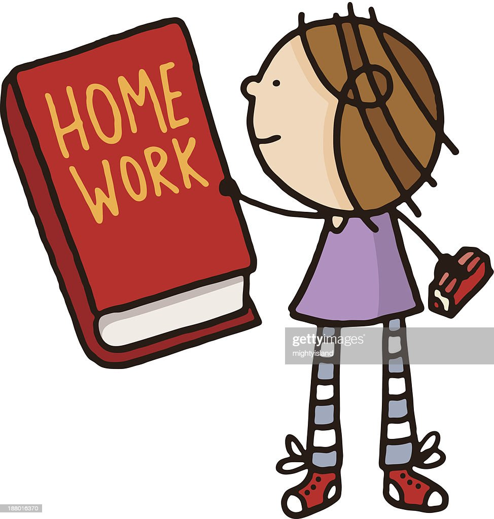 clipart homework book - photo #5