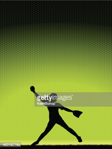 Softball pitcher backgrounds
