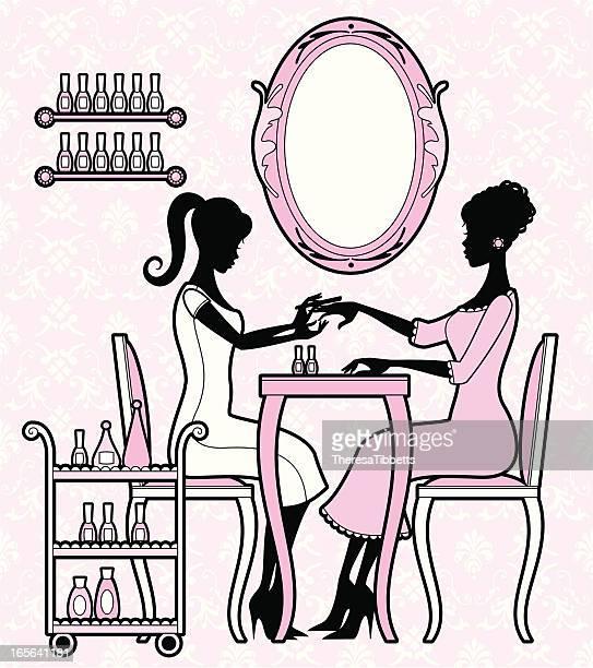 Girly Manicure