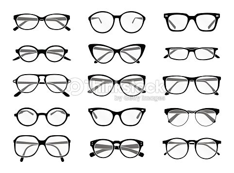 glasses vector art thinkstock. Black Bedroom Furniture Sets. Home Design Ideas