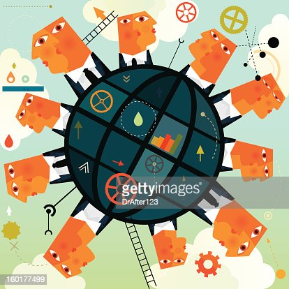 Global Business : Vector Art