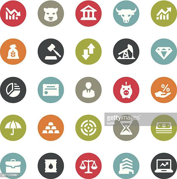 Global Finance icons / Ringico series
