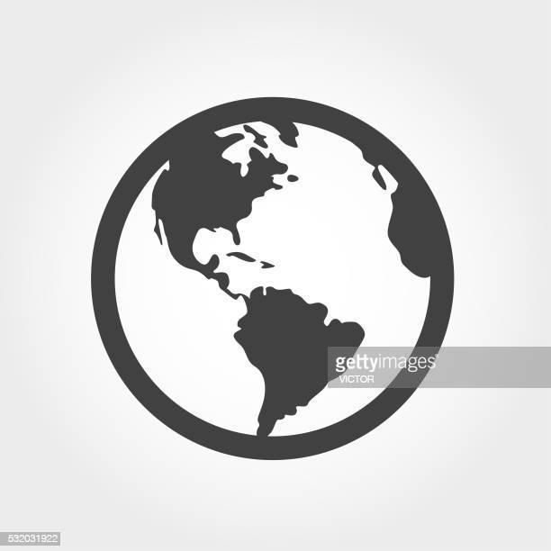 Globe Icon - Iconic Series
