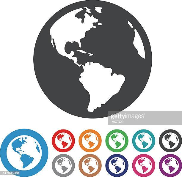 Globe Icons - Graphic Icon Series