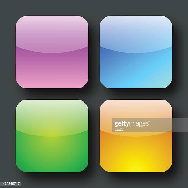 Glossy Button Set