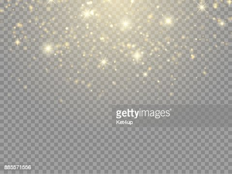 Glow light effect. Vector Christmas flash Concept : stock vector