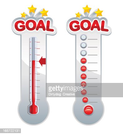 fundraiser thermometer