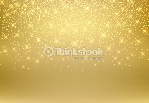 Gold glitter dust texture shining on golden background. Gold particles. Luxury design. Vector illustration : stock vector