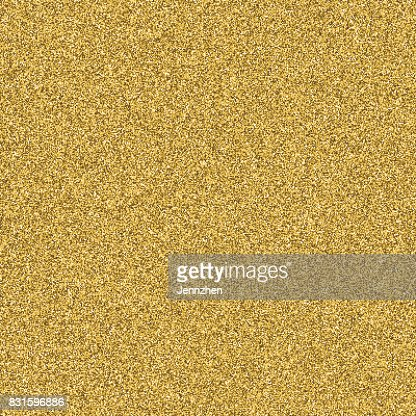 Gold glitter texture seamless vector for design layout background. : stock vector