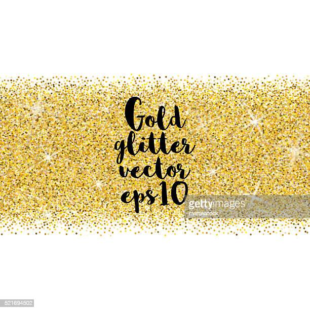 Gold glitter Vektor Hintergrund