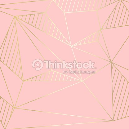 (illustration) gold line background, abstract artistic of geometric background : stock vector