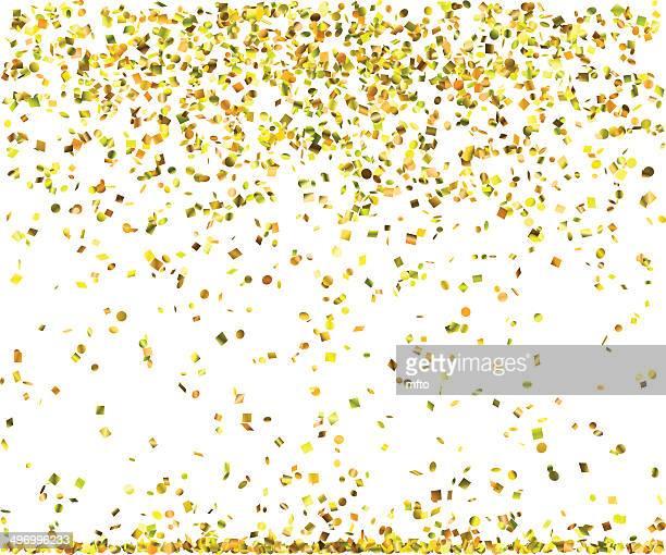 Golden confetti