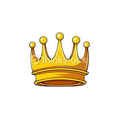 Golden Crown Royal Symbol Design Element Vector Vector Art Thinkstock