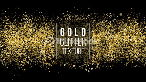 golden dust explosion glitter confetti great for wedding invitations vector id680683436s170667aw1007