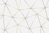 gold geometric abstract pattern. Template for  birthday, wedding, anniversary,  business cards design