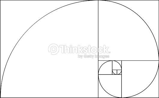 golden ratio template vector art thinkstock
