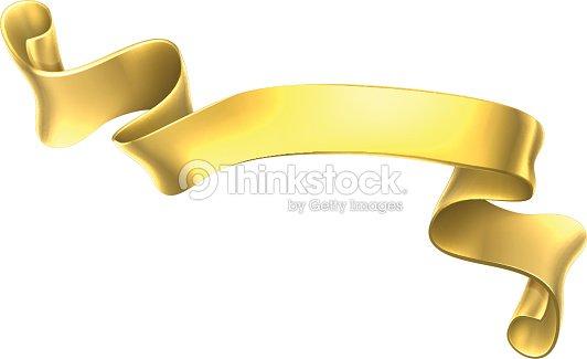 golden scroll banner vector art thinkstock