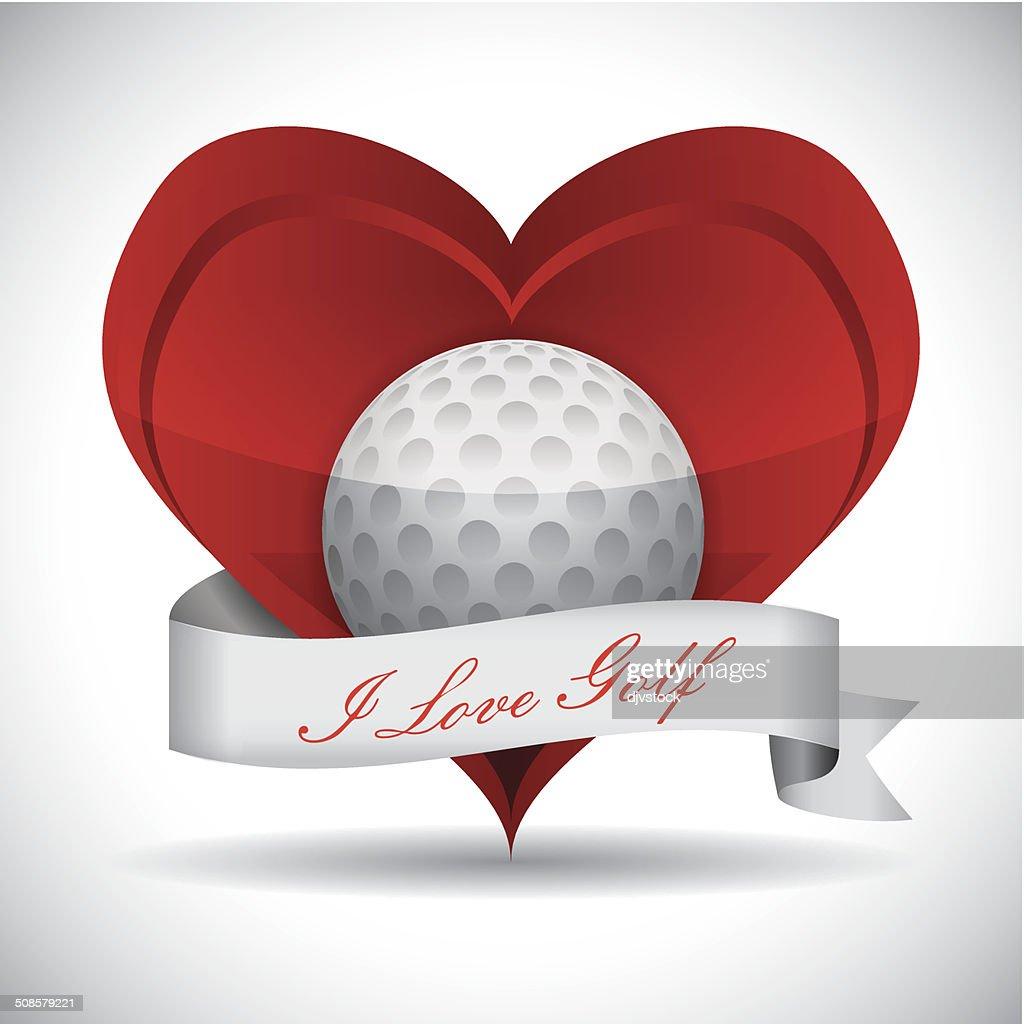golf design : Vector Art