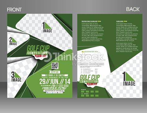 Golf tournament flyer template vector art thinkstock golf tournament flyer template vector art saigontimesfo