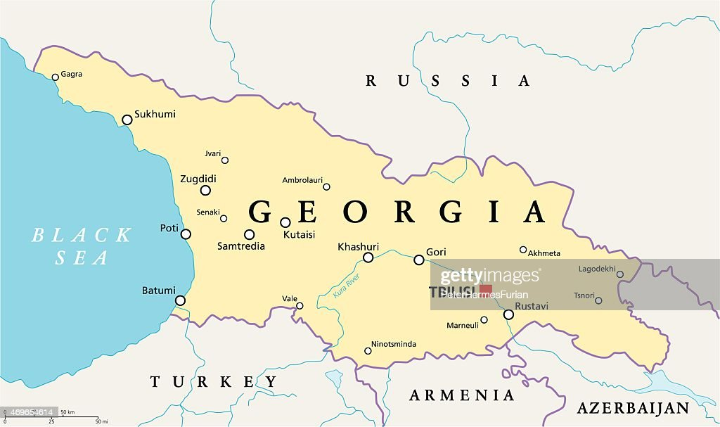 georgia map middle east bnhspinecom