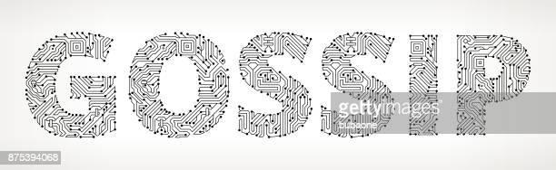 Chismes de circuitos Vector botones
