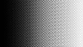 Pop Art black white halftone pattern. Background of Art. EPS10