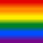 Rainbow pride flag LGBT movement background in gradient fill. Graphic element for design saved as an vector illustration in file format EPS 8
