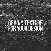 Grain grunge Texture. Looks like a Dust, Sand, Snow or Shalkboard Background. Ready for Your Design