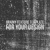 Grainy Texture Template for Your Design. Monochrome vintage Background