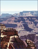 Grand Canyon.  Southern Utah and northern Arizona national park and recreation center.  Hiking, biking, and walking mecca.