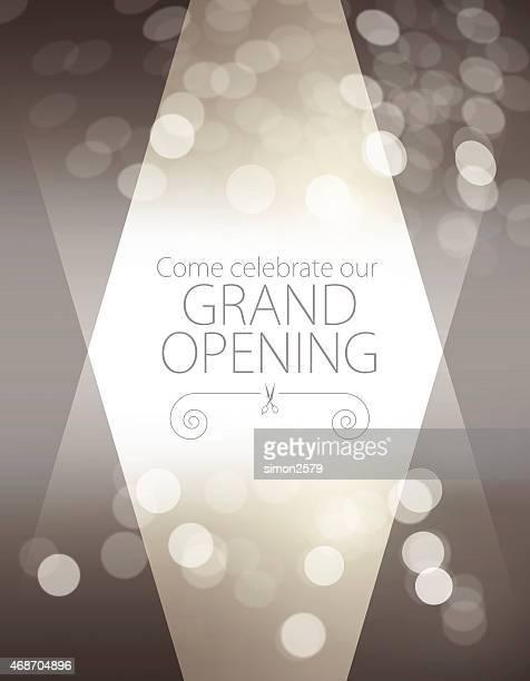 Große Eröffnung Einladung