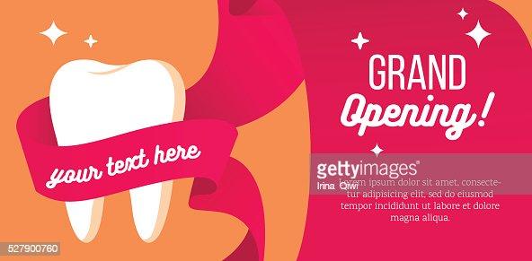 Grand Opening Of Dental Department Vector Art Thinkstock